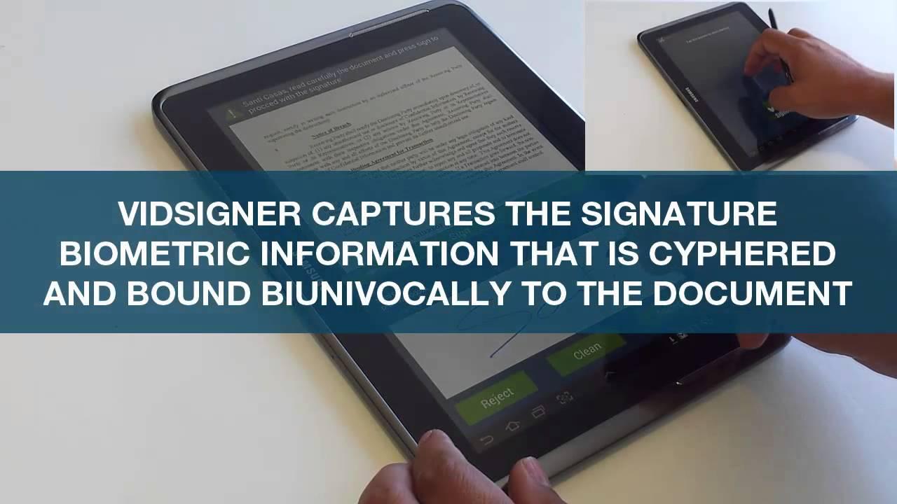 e-signature consent forms